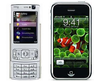 Nokia N95 vs. Apple iPhone