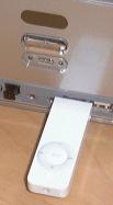 Ingeplugde iPod