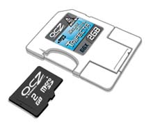 OCZ Trifecta: geheugenkaart, cardreader en usb-drive