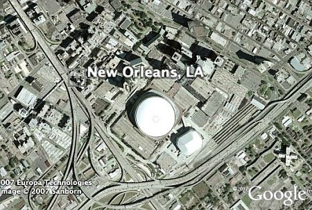 Google Maps New Orleans