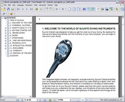 Foxit Reader screenshot (resized)
