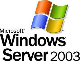 Microsoft Windows Server 2003 logo (groot)