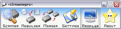 ClrMamePro 3.100b screenshot