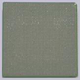 Sun Rock-chip - onderzijde met 2395 pinnetjes