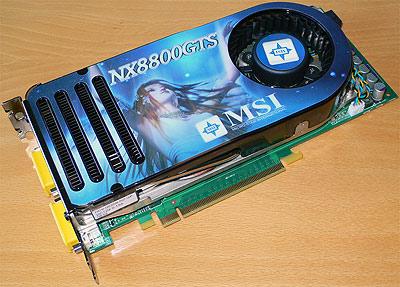 MSI GeForce 8800 GTS