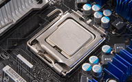 Intel Core 2 Extreme op moederbord