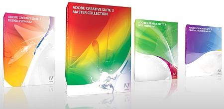 Verpakkingen Adobe CS3