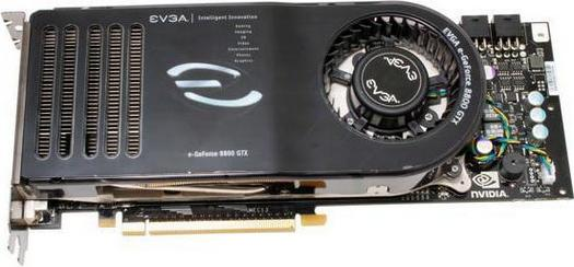 eVGA GeForce 8800 GTX