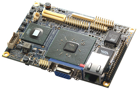 VIA VT6047 pico-itx-moederbord