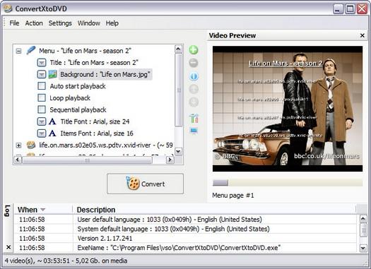 ConvertXtoDVD 2.1.17.240 screenshot (resized)