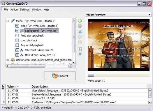 ConvertXtoDVD 2.1.18.242 screenshot (resized)