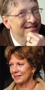 Bill Gates vs. Neelie Kroes