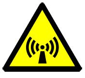 wifi waarschuwingsbord