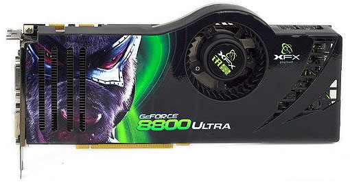 XFX GeForce 8800 Ultra
