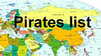 pirates list