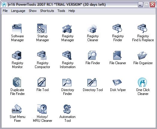 jv16 PowerTools 2007 RC1 screenshot