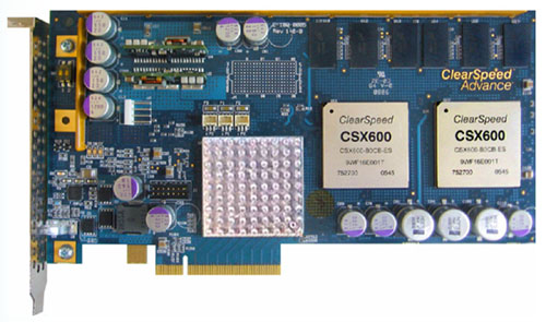ClearSpeed Advance e620 PCI Express