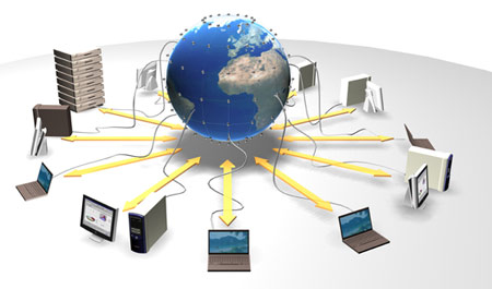 Voorbeeld datagrid: The EU DataGrid Project