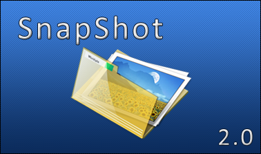 SnapShot 2.0 - splash screen