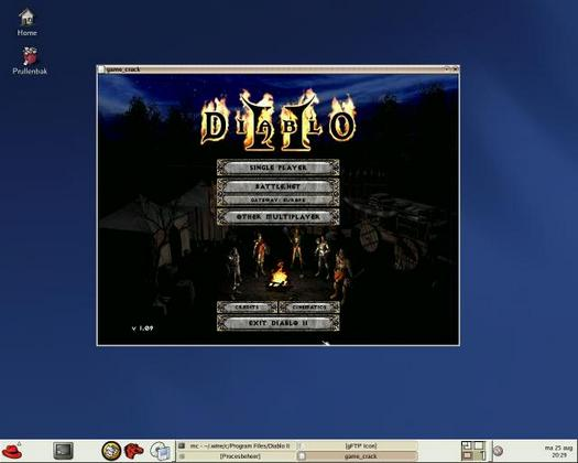 Diablo 2 onder Linux via Wine (resized))