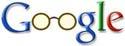 Google-logo met bril