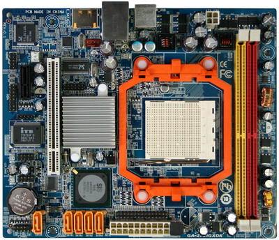 Gigabyte GA-2761GXDK-moederbord