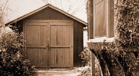 Garage waar HP begon