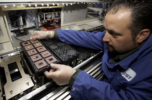 IBM Power6 komt van de lopende band gerold