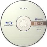 Sony bd-re-schijf