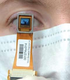 MicroEmissive Displays p-oled mini-display