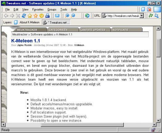 K-Meleon 1.1