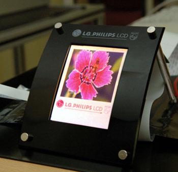 Oled-display van LG.Philips