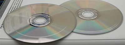 Bekraste Xbox 360-dvd's