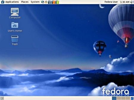 Fedora 7 desktop