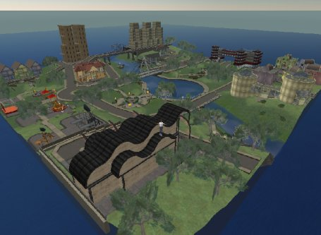 Eiland in Second Life