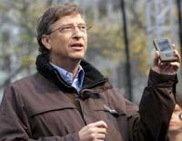 Bill Gates met Zune