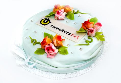 Tweakers.net NG relaunch taart groot