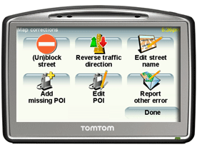 TomTom Map Share