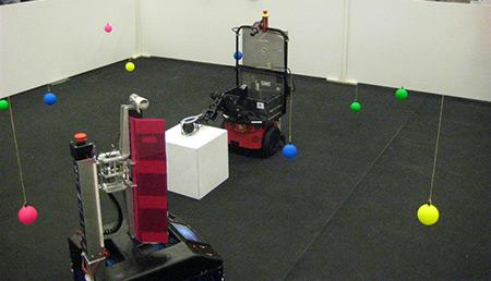 RoboChallenge 2007: NHL-robot pakt de zwarte bal