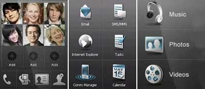 HTC TouchCube UI