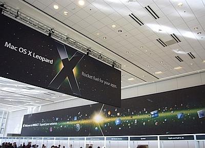 WWDC 2007: Mac OS X-banner