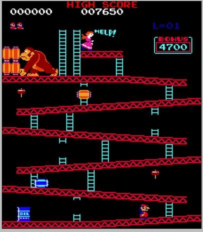Donkey Kong (410 pix)