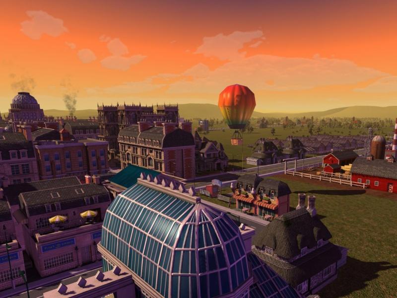 SimCity Societies - stadsoverzicht