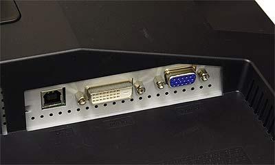 """Video-interfaces van de 19"""" SyncMaster 940UX"""