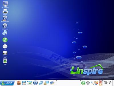 Linspire desktop
