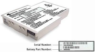 Gevaarlijke laptopbatterij van Gateway