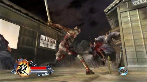 Tenchu Z - gevecht