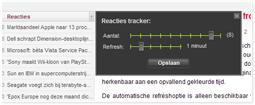 Screenshot tracker settings