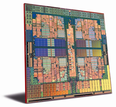 AMD Phenom / Barcelona die shot