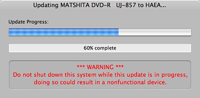 Apple SuperDrive Firmware Update 2.1